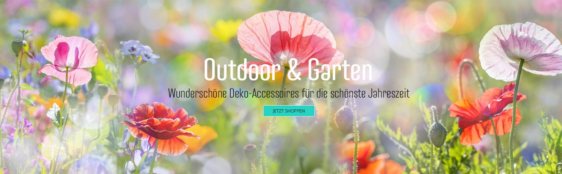 Deko-Artikel für Outdoor & Garten
